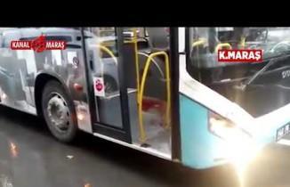 Kahramanmaraş Özel Halk Otobüsünde 'Taciz' Kavgası: 1 Yaralı