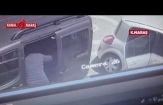 Kahramanmaraş'ta 139 bin TL'yi çalan hırsızların soygunu kameralarda