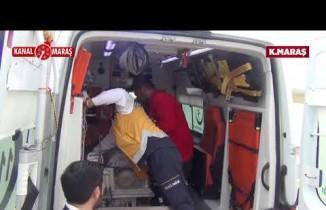 Kahramanmaraş'ta 5 aylık bebek ambulans uçakla Hastaneye sevk edildi