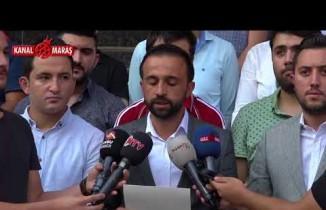 Kahramanmaraş'ta AK Partili gençlerden '12 Eylül' açıklaması