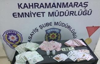 Kahramanmaraş'ta polisten kumar baskını