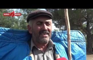 Kahramanmaraş'ta göçerler yaylada üretime başladı!