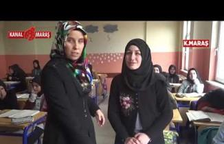 Kahramanmaraş'ta görme engelli genç kız üç günde Kur'an okumayı öğrendi