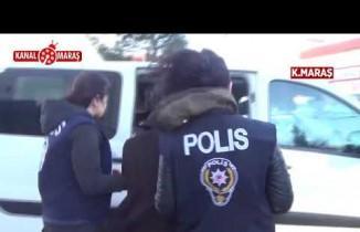 Kahramanmaraş'ta hırsızlıktan hapse mahkum edilen abla kardeş yakalandı!
