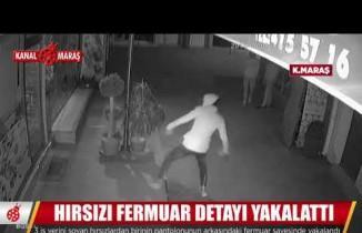 Kahramanmaraş'ta işyeri hırsızları önce kameraya ardından polise yakalandı