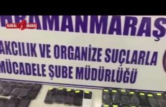 Kahramanmaraş'ta kaçak cep telefonu operasyonu! 4 şüpheli yakalandı