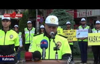 Kahramanmaraş'ta 'Karayolu güvenliği ve Trafik Haftası' çeşitli etkinliklerle kutlandı
