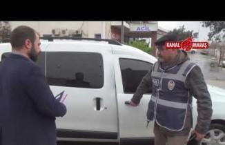 Kahramanmaraş'ta kaza yaptığı otomobili tamir ettirmek...
