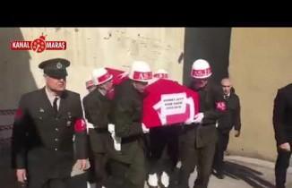 Kahramanmaraş'ta Kore Gazisi Mehmet Zeyit son yolculuğuna uğurlandı