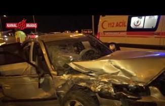 Kahramanmaraş'ta korkunç kaza: 7 yaralı