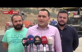 Kahramanmaraş'ta Kuzey Çevre Yolu sıcak asfaltlarla kaplanıyor