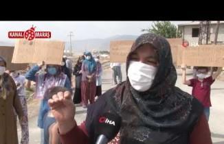Kahramanmaraş'ta mahalle sakinleri isyanda! 'Korona değil bu koku öldürecek'