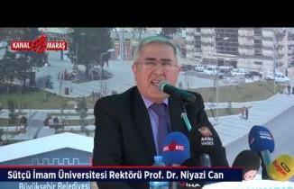 Kahramanmaraş'ta Milli İrade Meydanı açıldı!