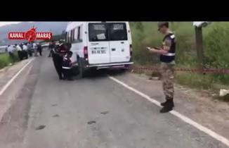 Kahramanmaraş'ta öğrenci servisi kaza yaptı! 1 ölü 1 yaralı