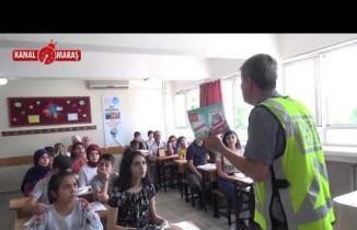 Kahramanmaraş'ta Öğrencilere Trafik karnesi!
