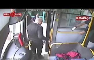Kahramanmaraş'ta otobüste fenalaşan yolcular hastaneye yetiştirildi!