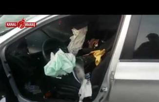 Kahramanmaraş'ta otomobil bariyerlere çaptı: 1 ölü, 1 yaralı