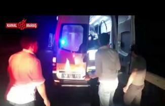 Kahramanmaraş'ta otomobil traktöre çarptı: Yaralılar var!