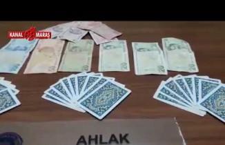 Kahramanmaraş'ta polisten pokercilere kumar baskını