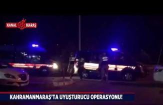 Kahramanmaraş'ta uyuşturucu operasyonu! 15 gözaltı