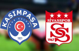 Kasımpaşa-Sivasspor maçı / CANLI İZLE (beIN Sports 2 canlı yayın)