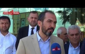 Kalp krizi geçiren KMTSO Başkanı Zabun'a, Milletvekili adayı Özdemir'den ziyaret