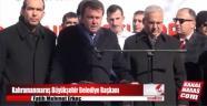 Büyükşehir Belediye Başkanı Erkoç'un Bayırbucak Türkmenlerine yardım konuşması