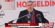 Başkan Mahçiçek Bayırbucak Türkmenlerine yardım program konuşması
