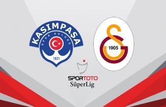 Kasımpaşa kendi evinde Galatasaray ile puanları paylaştı
