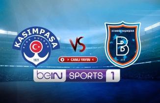 Kasımpaşa - Başakşehir maçı / CANLI İZLE