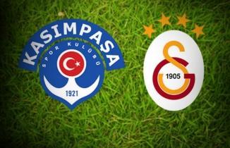 Kasımpaşa - Galatasaray Maçı CANLI İZLE (Tek maç ve yayın linki)