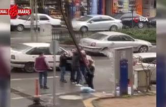 Kahramanmaraş'ta borçlu olduğu kadına çantasını kaptırdı