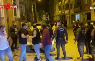 Bursa'da taraftarlar kavga etti, olaya çok sayıda polis müdahale etti