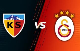 Kayserispor Galatasaray Maç Sonucu: 0-3