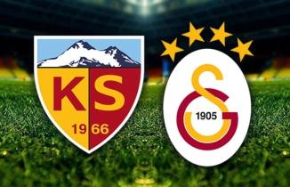 Kayserispor (3-0) Galatasaray maçı özeti ve golleri | Süper Lig 6. hafta