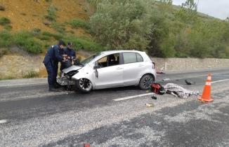 Kayseri-Kahramanmaraş yolunda korkunç kaza! 1 ölü, 2 yaralı