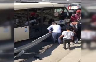 İstanbul'da kullandığı minibüsün altında kalan İshak Toğluk öldü