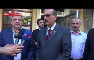 KMTSO Başkanı Zabun'dan BBP Kahramanmaraş İl Başkanı Odunkıran'a ziyaret