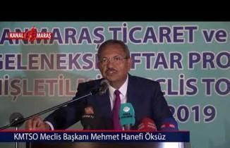 KMTSO Başkanı Zabun: Şehrimiz dünyada güçlü bir Türk markası olarak anılıyor