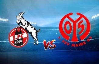 Köln - Mainz 05 maçı (CANLI İZLE)