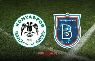 Konyaspor Başakşehir maçı ne zaman, saat kaçta, nerede? Konyaspor Başakşehir hangi kanalda?