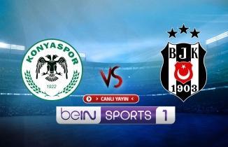 Konyaspor - Beşiktaş maçı (CANLI İZLE)