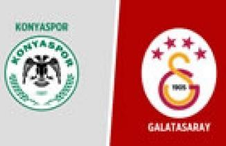 CANLI YAYIN | Konyaspor - Galatasaray maçı canlı izle!