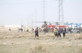 Konya'da uçak kazası: Pilot şehit oldu