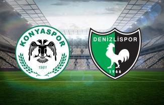 Konyaspor Denizlispor maçı (CANLI İZLE)
