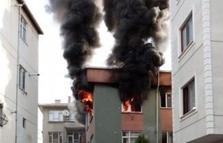 İstanbul'da çıkan yangın mahalleliye korku dolu anlar yaşattı!