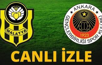 Yeni Malatyaspor Gençlerbirliği maçı (Canlı İzle)