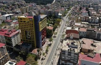 Kahramanmaraş'ta sokağa çıkma yasağında cadde ve sokaklar boş kaldı