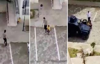 Nusaybin'de çocukları silahla kovalayan polis açığa alındı