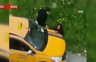 Mersin'de yol ortasında taksici dehşeti! Genç kızı önce takip etti, sonra çarptı
